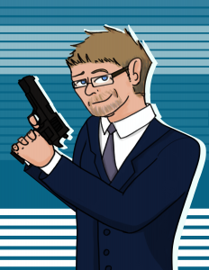 Dirk Greyson Caricature